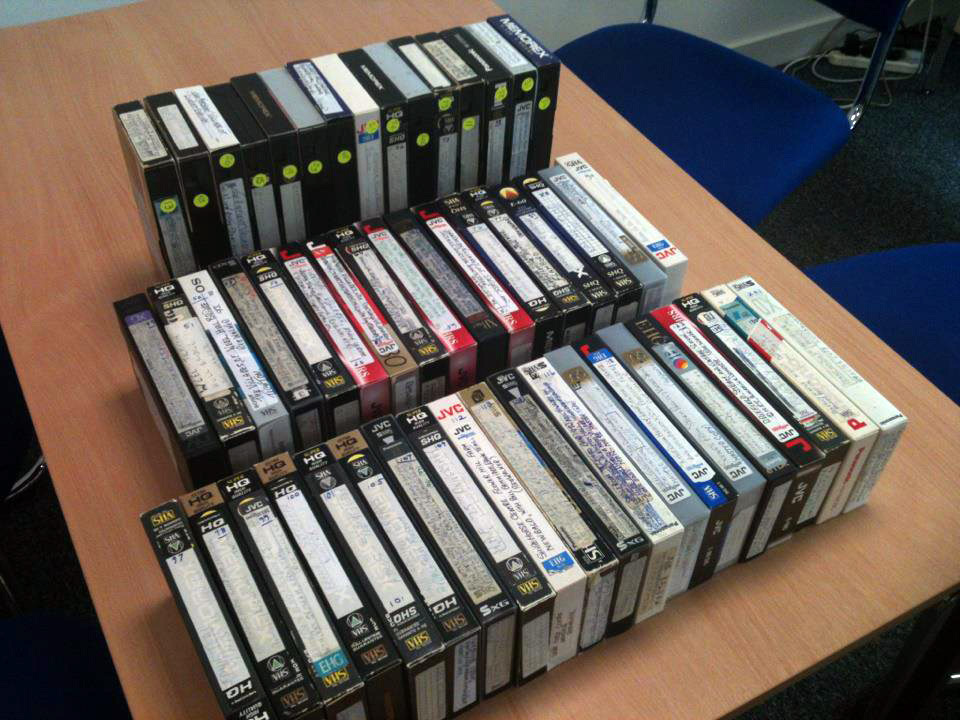 vhs tapes omzetten